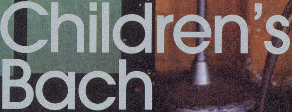 Friday Faves: The Children's Bach by Helen Garner