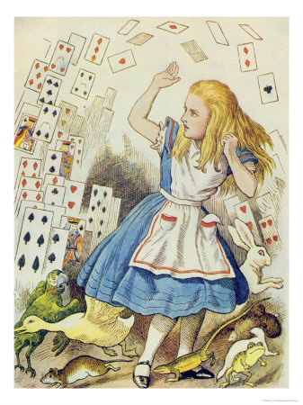 In Other News: Turning 40, Old Friendships & Alice in Wonderland