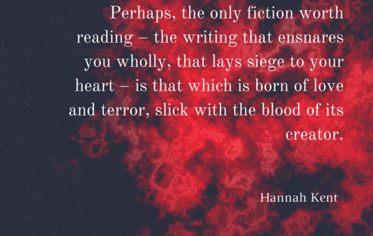 Hannah Kent: The only fiction worth reading...